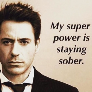 My super power is staying sober